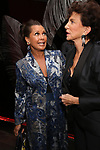 Vanessa Williams and Mercedes Ruehl attends the Off-Broadway Opening Night After Party for the Second Stage Production on 'Torch Song' on October 19, 2017 at Copacabana in New York City.