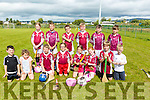 An Tochair CLG under 10's at the Tralee Parnells Hurling and Camogie blitz on Saturday at the John Mitchels complex