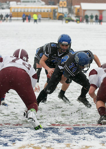 WBHS sophomore center Victor Green and senior quarterback Steven Gould.