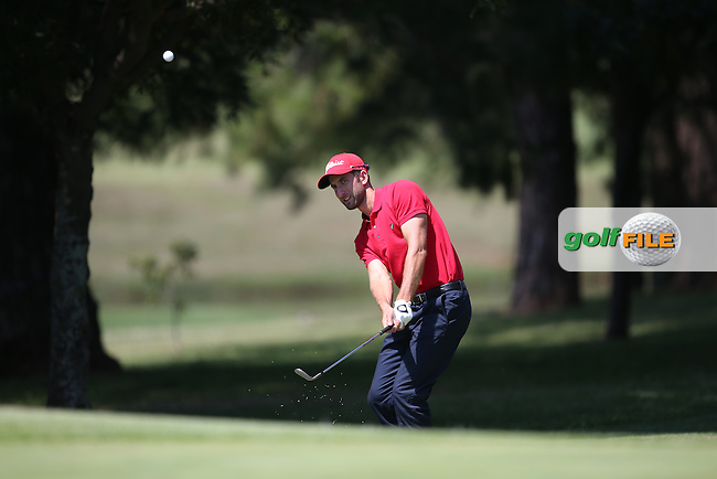 Seve Benson (ENG) chips to the 17th during Round Three of the Tshwane Open 2015 at the Pretoria Country Club, Waterkloof, Pretoria, South Africa. Picture:  David Lloyd / www.golffile.ie. 14/03/2015