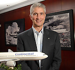 Continental Airlines incoming CEO Jeff Smisek at the company's headquarters Friday Dec. 18,2009.(Dave Rossman/For the Chronicle)