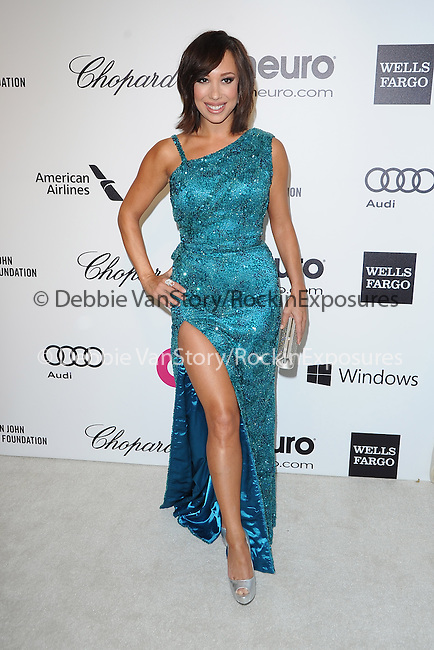 Cheryl Burke  attends the 2014 Elton John AIDS Foundation Academy Awards Viewing Party in West Hollyood, California on March 02,2014                                                                               © 2014 Hollywood Press Agency