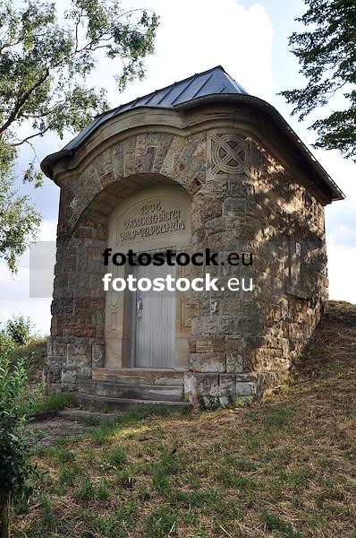 Wasserbehälter Wald-Uelversheim (1906) barockisierender Typenbau, Architekt Wilhelm Lenz, Kulturinspektion Mainz
