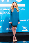 Paula Vazquez on the first anniversary of broadcast of #0 television network of the Movistar + group in Madrid, Spain. January 30th 2017. (ALTERPHOTOS/Rodrigo Jimenez)