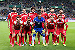 Syria team group line-up (SYR), MARCH 29, 2016 - Football / Soccer : FIFA World Cup Russia 2018 Asian Qualifier Second Round Group E match between Japan 5-0 Syria at Saitama Stadium 2002 in Saitama, Japan. (Photo by Yohei Osada/AFLO SPORT)