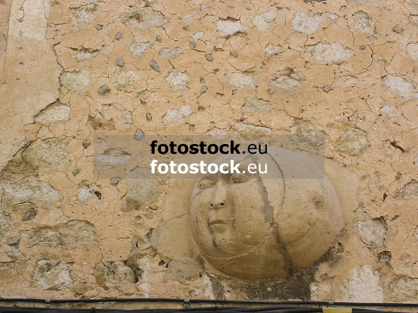 Moon at the facade of the Casa de la Luna (House of the Moon)<br /> <br /> Luna en la fachada de la Casa de la Luna<br /> <br /> Mond an der Fassade der Casa de la Luna (Haus des Mondes)<br /> <br /> 2272 x 1704 px