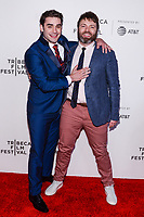 "NEW YORK CITY - APRIL 20: Alex Rich and Seth Gabel attend National Geographic's ""Genius: Picasso"" red carpet event at the Tribeca Film Festival at the BMCC Tribeca Performing Arts Center on April 20, 2018 in New York City. (Photo by Anthony Behar/National Geographic/PictureGroup)"