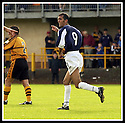 24/8/02         Copyright Pic : James Stewart                     .File Name : stewart-alloa v falkirk 19.OWEN COYLE CELEBRATES SCORING THE SIXTH....James Stewart Photo Agency, 19 Carronlea Drive, Falkirk. FK2 8DN      Vat Reg No. 607 6932 25.Office : +44 (0)1324 570906     .Mobile : + 44 (0)7721 416997.Fax     :  +44 (0)1324 570906.E-mail : jim@jspa.co.uk.If you require further information then contact Jim Stewart on any of the numbers above.........