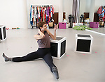 """Melanie Moore during a press Sneak-Peek for The Joyce Theater's presentation of """"Freddie Falls in Love"""" at Gibney Dance on July 15, 2019 in New York City."""