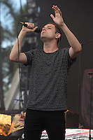 MIAMI FL - JUNE 26: James Alexander Graham of The Twilight Sad performs at Bayfront Park Amphitheater on June 26, 2016 in Miami, Florida. Credit: mpi04/MediaPunch