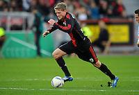 FUSSBALL   1. BUNDESLIGA   SAISON 2011/2012    10. SPIELTAG Bayer 04 Leverkusen - FC Schalke 04                        23.10.2011 Andre SCHUERRLE (Bayer 04 Leverkusen) Einzelaktion am Ball