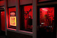 Red Light Radio at Red Light District in Amsterdam,Netherlands. Photo by Paulo Amorim