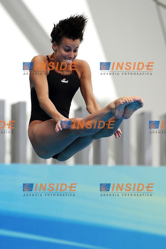 Tania CAGNOTTO Italy Bronze medal.Women's 1m Springboard - Trampolino 1m Donne..Shanghai 19/7/2011 .14th FINA World Championships.Foto Andrea Staccioli Insidefoto