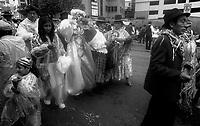 02.2010 La Paz (Bolivia)<br /> <br /> D&eacute;fil&eacute; lors du carnaval de La Paz.<br /> <br /> Parade of the carnival in La Paz.