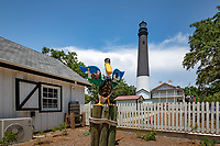 The Pensacola Light remains an active aid to navigation. As of 2009, the lighthouse opened on a limited basis for public tours, and since early 2011 it has been open 7 days a week. Maintenance and tour operations are currently conducted by the Pensacola Lighthouse Association. The 1869 keeper's quarters, adjacent to the lighthouse tower, houses a museum and gift shop also administered by the Pensacola Lighthouse Association.