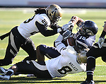 Nevada's Rishard Matthews runs up the middle against Idaho during NCAA football game in Reno, Nev., on Saturday, Dec. 3, 2011. Nevada won 56-3.  .Photo by Cathleen Allison