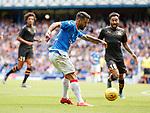 14.07.2019: Rangers v Marseille: Daniel Candeias shoots