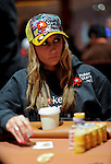 Team Pokerstars.net Pro Vanessa Rousso is one of three team pro remaining in the field at the end of day 2.