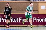 Stockholm 2014-09-26 Handboll Elitserien Hammarby IF - Ricoh HK :  <br /> Hammarbys Johan Nilsson jublar efter ett m&aring;l i matchen<br /> (Foto: Kenta J&ouml;nsson) Nyckelord:  Eriksdalshallen Hammarby HIF HeIF Bajen Ricoh HK RHK jubel gl&auml;dje lycka glad happy