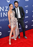 LOS ANGELES, USA. June 07, 2019: Jesse Metcalfe & Cara Santana at the AFI Life Achievement Award Gala.<br /> Picture: Paul Smith/Featureflash