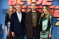 "Sylvia Hoeks, Harrison Ford, Ryan Gosling and Ana De Armas<br /> at the ""Blade Runner 2049"" photocall, Corinthia Hotel, London<br /> <br /> <br /> ©Ash Knotek  D3312  21/09/2017"