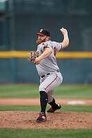 Altoona Curve pitcher Matt Eckelman (30) during an Eastern League game against the Erie SeaWolves on June 5, 2019 at UPMC Park in Erie, Pennsylvania.  Altoona defeated Erie 6-2.  (Mike Janes/Four Seam Images)