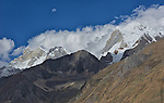 Moon Over Yerupaja, Cordillera Huayuash, Peru