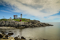 Nubble Light site on Nubble Island off Cape Neddick in Maine.