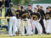 Honeoye Falls-Lima Cougars vs Batavia Blue Devils during the NYSPHSAA Section V Class-A Championship game at SUNY Brockport on June 2, 2012 in Brockport, New York.  (Photo By Mike Janes Photography)