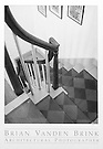 PAINTED STAIR<br /> CIRCA 1820<br /> Arundel, Maine<br /> Moses Eaton, Artist &copy; Brian Vanden Brink, 2004