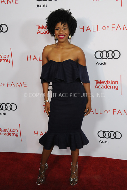 www.acepixs.com<br /> <br /> November 15 2017, LA<br /> <br /> Danielle Mone Truitt arriving at the Television Academy's 24th Hall of Fame Ceremony at the Saban Media Center on November 15, 2017 in Los Angeles, California.<br /> <br /> By Line: Peter West/ACE Pictures<br /> <br /> <br /> ACE Pictures Inc<br /> Tel: 6467670430<br /> Email: info@acepixs.com<br /> www.acepixs.com