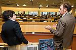 Conference logoBRUSSELS - BELGIUM - 15 November 2012 -- European Training Foundation (ETF) conference on - Towards excellence in entrepreneurship and enterprise skills. -- Inspiration: training for youth start-ups - Dieter Kohn, Triodos Facet, Belgium; Efka Heder, South East European Centre for Entrepreneurial Learning, Croatia. -- PHOTO: Juha ROININEN /  EUP-IMAGES.