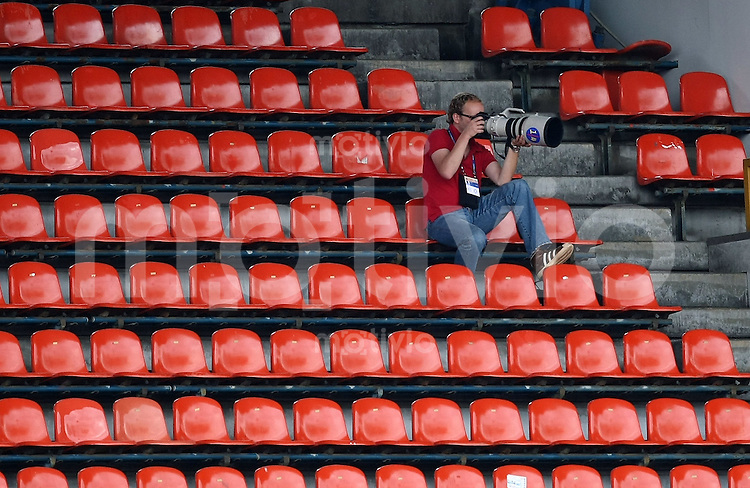 Fussball International U 17 WM  Schiedsrichter Fitnesstest; FIFA Fotograf Robert Michael