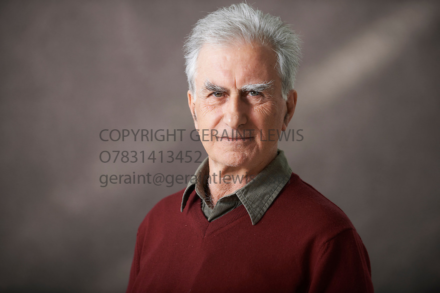 Gabriel Josipovici, Fiction Writer of Infinity at The Edinburgh International Book Festival   . Credit Geraint Lewis
