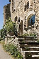 Europe/France/Rhône-Alpes/26/Drôme/Le Poët-Laval: Ancienne commanderie de l'ordre de Malte - Château de la Commanderie des Templiers