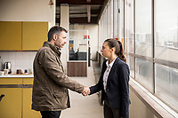 Paddy Considine &amp; Bel Powley<br /> Informer (2018 - )<br /> *Filmstill - Editorial Use Only*<br /> CAP/RFS<br /> Image supplied by Capital Pictures