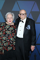 LOS ANGELES - NOV 18:  Carol Levy, Marvin Levy at the 10th Annual Governors Awards at the Ray Dolby Ballroom on November 18, 2018 in Los Angeles, CA