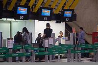 SÃO PAULO, SP, 28.04.2017- GREVE-SP- Aeroporto de Congonhas, zona sul de São Paulo (SP), nesta sexta-feira (28)(Foto: Danilo Fernandes/Brazil Photo Press)