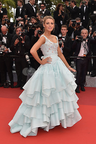 Blake Lively arrives at 'Ma Loute' screening at 69th International Cannes Film Festival, France<br /> May 2010<br /> CAP/PL<br /> &copy;Phil Loftus/Capital Pictures /MediaPunch ***NORTH AND SOUTH AMERICA ONLY***