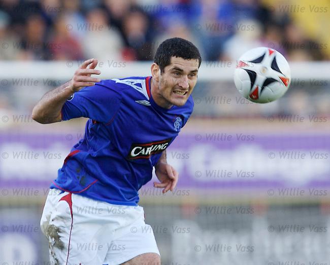 Julien Rodriguez, Rangers.stock season 2006-2007.pic willie vass