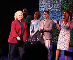 Barbara Cook taking a bow during the Broadway Opening Night Curtain Call for SONDHEIM on SONDHEIM at Studio 54 in New York City. April 22, 2010