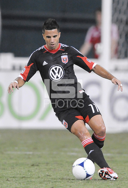 D.C. United midfielder Marcelo Saragosa (11)  The New York Red Bulls tied D.C. United 2-2 at RFK Stadium, Wednesday August 29, 2012.