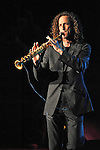 Kenny G plays to a sold out crowd at the Von Braun Center Concert Hall in Huntsville, AL Thur. Dec. 17, 2009.     Bob Gathany / The Huntsville Times