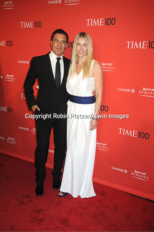 Chelsea Handler and boyfriend Andre Balazs attends The Time 100 Most Influential People in the World Gala on April 24, 2012 at Frederick P Rose Hall at Lincoln Center in New York City. .