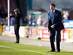 Inverness Caley v St Johnstone&hellip;08.04.17     SPFL    Tulloch Stadium<br />Tommy Wright goes mad at his players<br />Picture by Graeme Hart.<br />Copyright Perthshire Picture Agency<br />Tel: 01738 623350  Mobile: 07990 594431