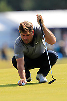 Robert Rock (ENG) on the 8th during Round 2 of the Aberdeen Standard Investments Scottish Open 2019 at The Renaissance Club, North Berwick, Scotland on Friday 12th July 2019.<br /> Picture:  Thos Caffrey / Golffile<br /> <br /> All photos usage must carry mandatory copyright credit (© Golffile | Thos Caffrey)
