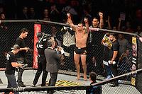 RIO DE JANEIRO, RJ, 01.08.2015 - UFC-RJ - O lutador Maurício Shogun vence  Rogério Minotouro no UFC 190: Rousey vs. Correia, na HSBC Arena, na zona oeste, neste sábado (01). (Foto: João Mattos / Brazil Photo Press)