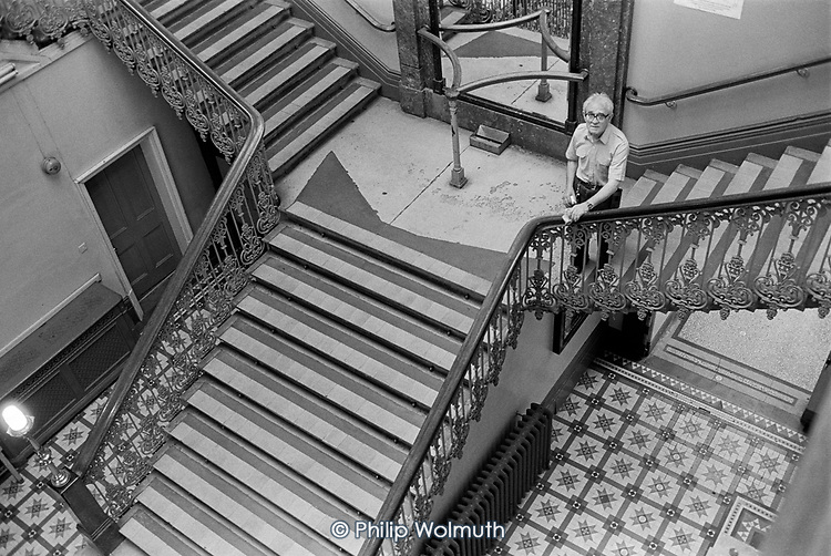 Cleaner/caretaker, Hampstead Town Hall, London Borough of Camden.