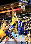 12.02.2019, Mercedes Benz Arena, Berlin, GER, ALBA ERLIN vs.  Basketball Loewen Braunschweig, <br /> im Bild Johannes Thiemann (ALBA Berlin #32), Luke Sikma (ALBA Berlin #43),<br /> Shaquille Hines (Braunschweig #24), Christian Sengfelder (Braunschweig #11)<br /> <br />      <br /> Foto &copy; nordphoto / Engler