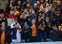 8th November 2019; Dens Park, Dundee, Scotland; Scottish Championship Football, Dundee Football Club versus Dundee United; Dundee United fans - Editorial Use